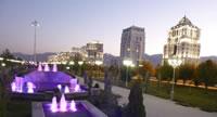 Ashgabat bij nacht