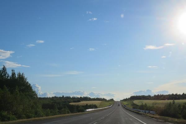 Onderweg met de huurauto in Wit-Rusland