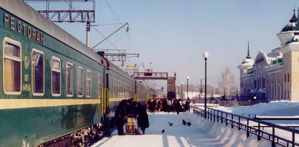 Met de Trans-Siberië Express van Moskou naar Vladivistok
