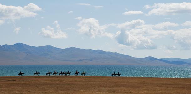 De meren van Kirgizië