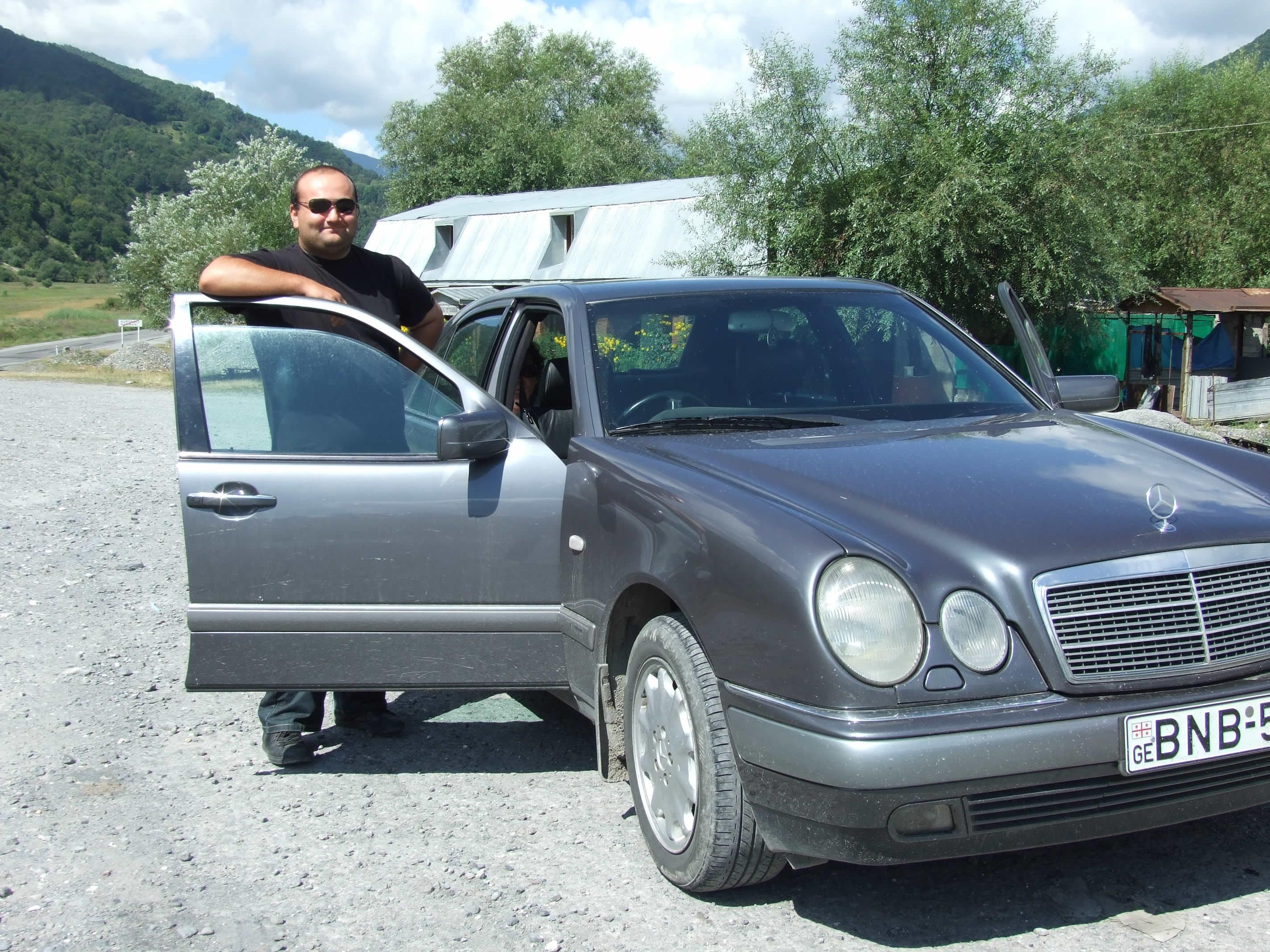 Georgië met chauffeur