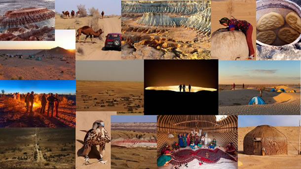 Groepsreizen Turkmenistan