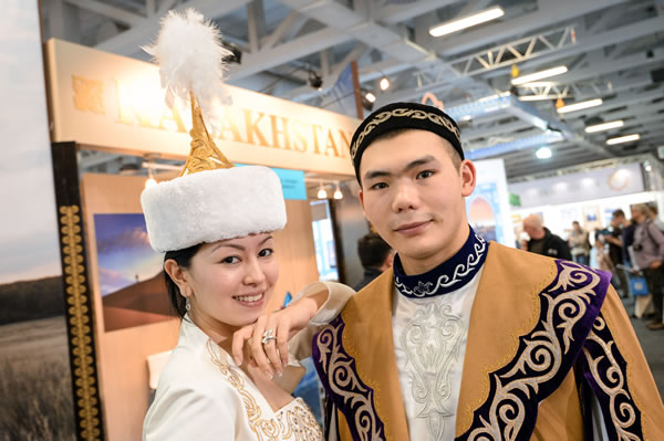ITB 2015: stand Kazachstan