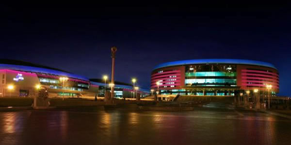 Stadion in Minsk