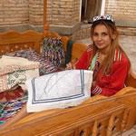 Suzani-atelier Oezbekistan