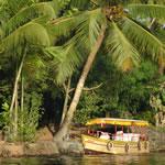 De backwaters van Kerala